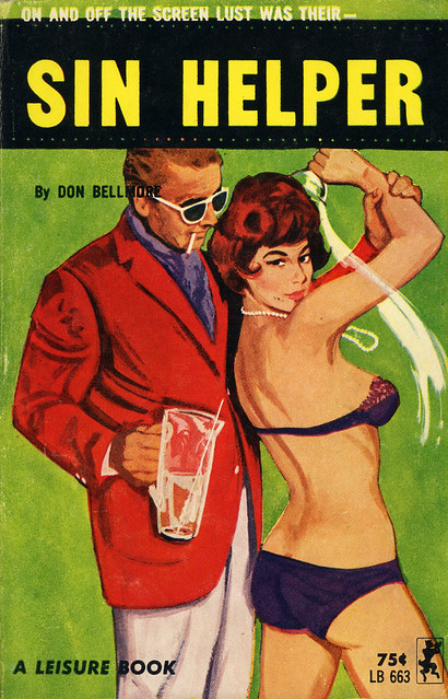 Leisure Books 663 - Don Bellmore - Sin Helper