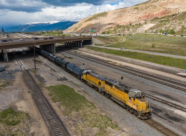 UP 1100 (GP60) Salt Lake City, Utah