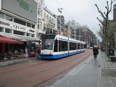 GVB 2122 op het Rembrandtplein