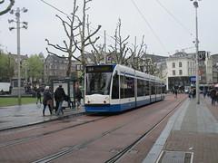GVB 2147 op het Rembrandtplein