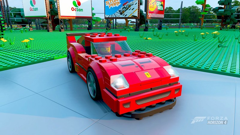 LEGO Speed Champions Forza Horizon 4 F40 In-game