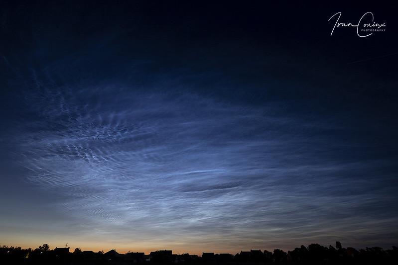 Noctilucent Clouds – Hombeek – 2019 06 21 – 03 – Copyright © 2019 Ivan Coninx