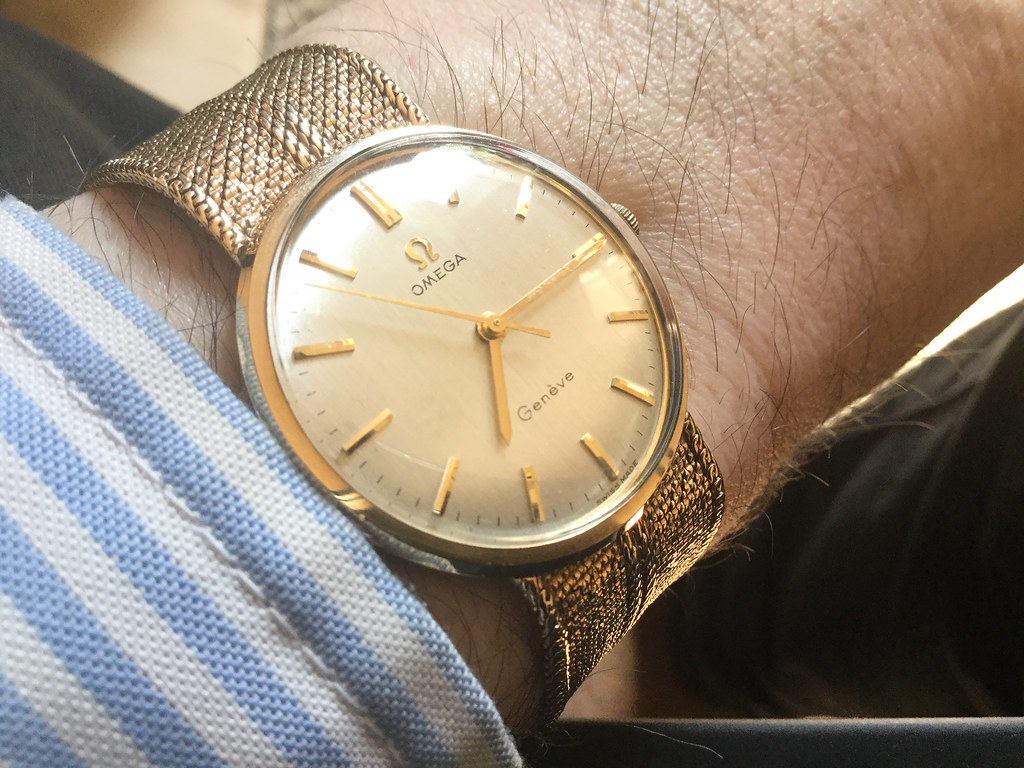 9ct Omega, calibre 601, from 1969