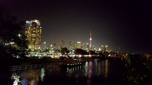 Toronto at night | by ildikoannable
