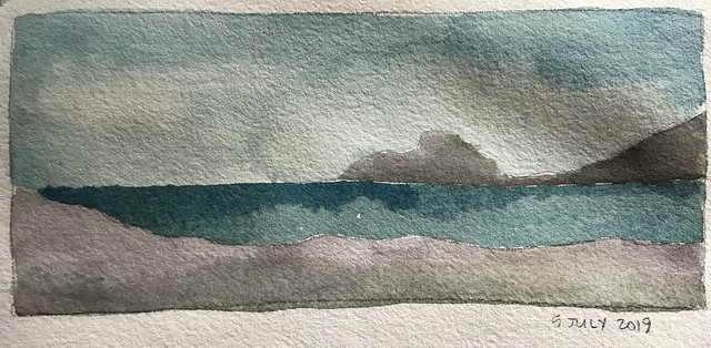 Five Minute Watercolor Sketch