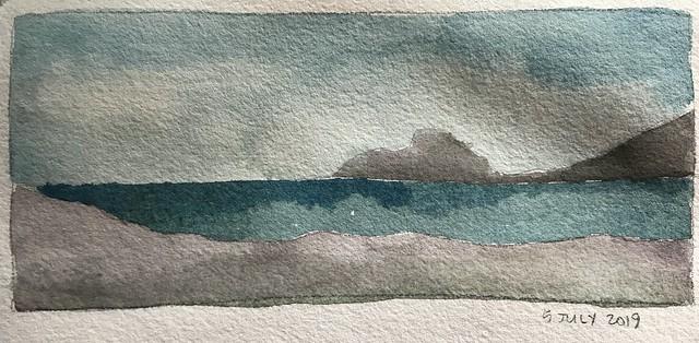 Five Minute Watercolor Sketch