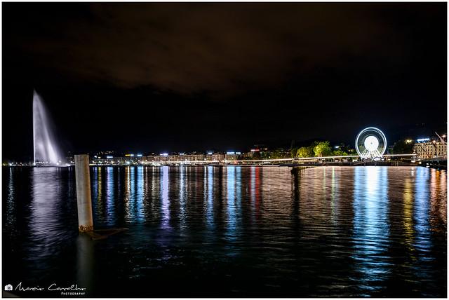Lake reflections - Geneva - Switzerland - NZ6_1760