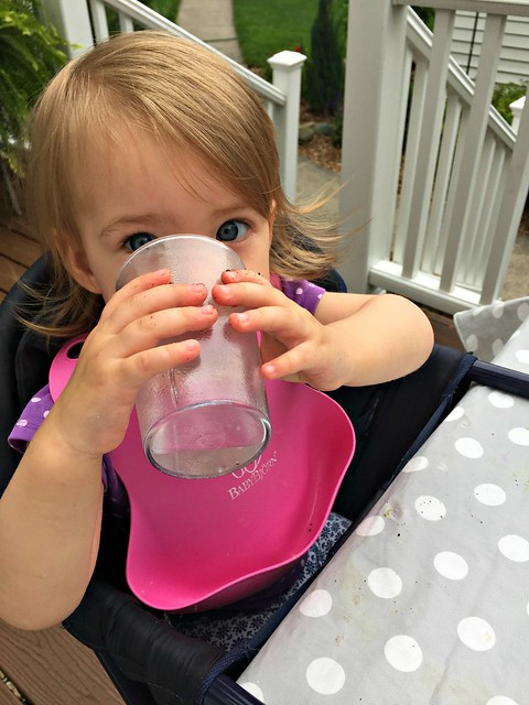 clara drinking more water