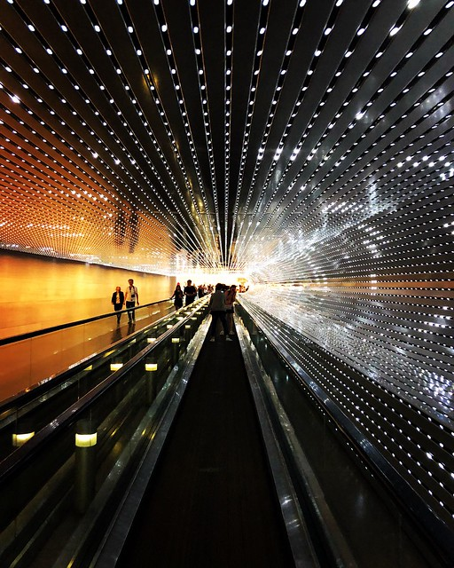 National Gallery of Art - East/West Multiverse installation connection