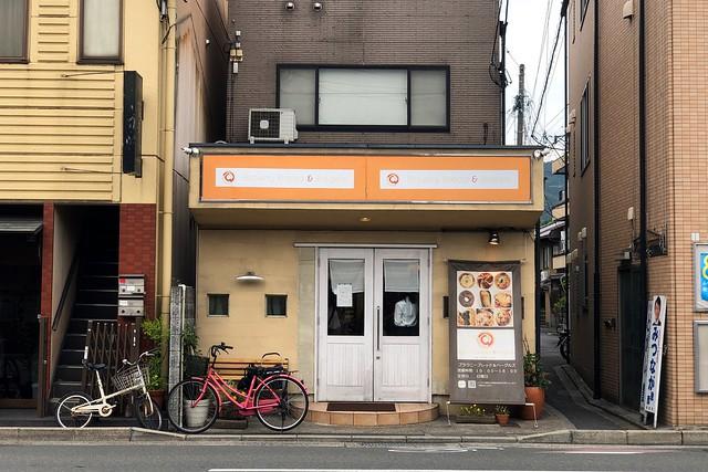 移転後初のブラウニー (京都・神宮丸太町)