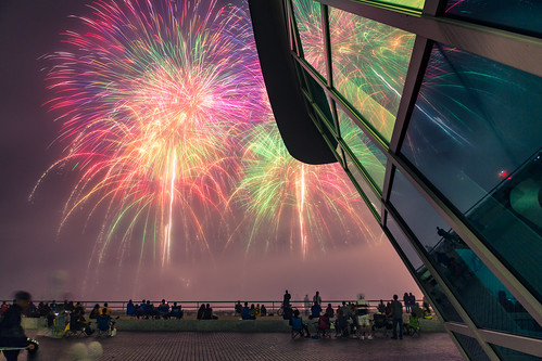 Rainbow Sky - MAM Lakefront Fireworks
