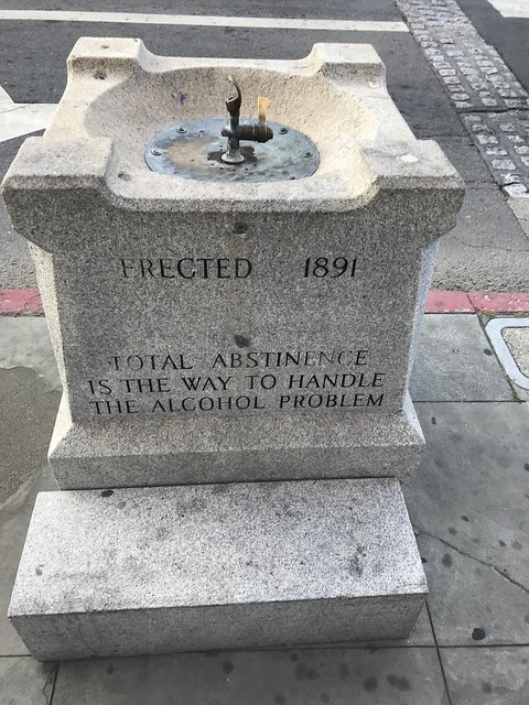 Abstinence fountain