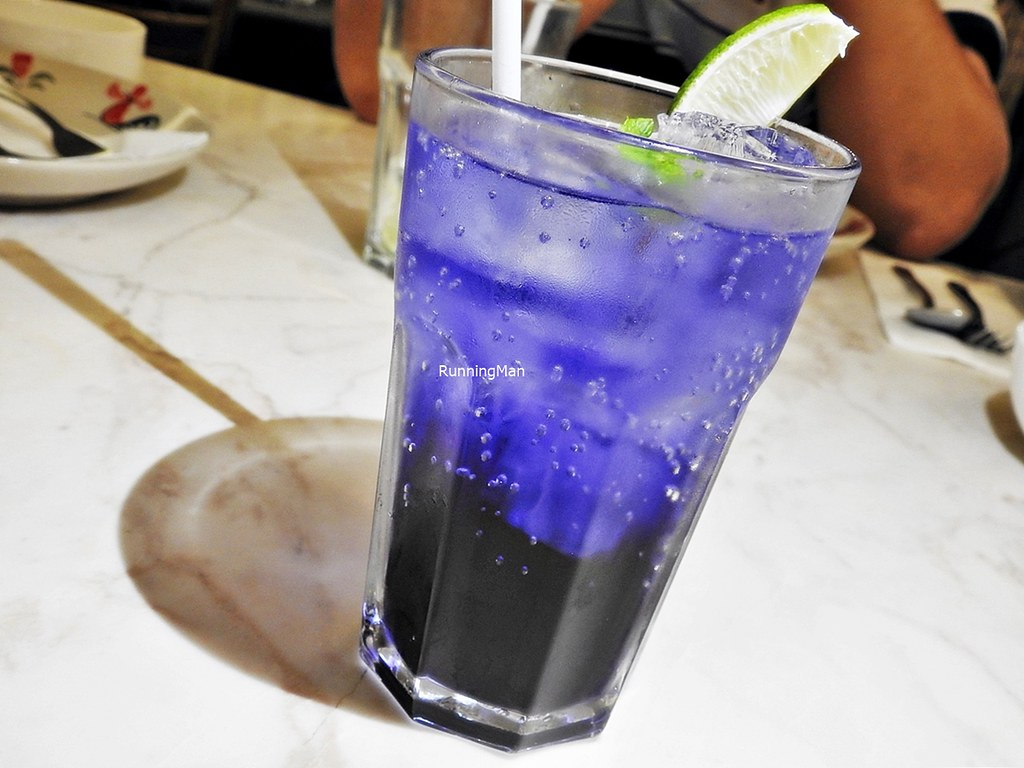 Butterfly Pea Flower With Lime