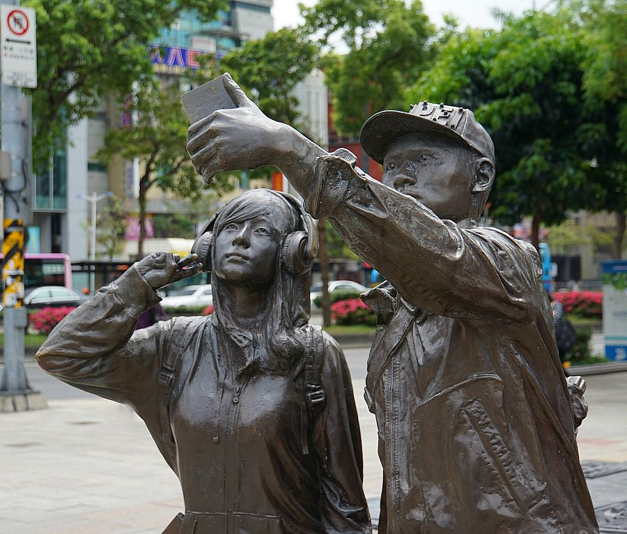 Taipei Street Art Selfie
