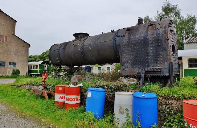 Saint Laurent sur Sevre, vieux trains  (43em selection explore flickr, 7 juillet 2019 #290)