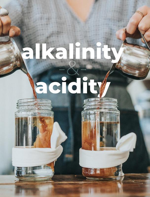 Tác động của độ kiềm đến chiết xuất cà phê