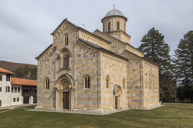 Cthedral of the Visoki Dečani monastery