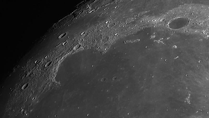 月面写真の画像処理