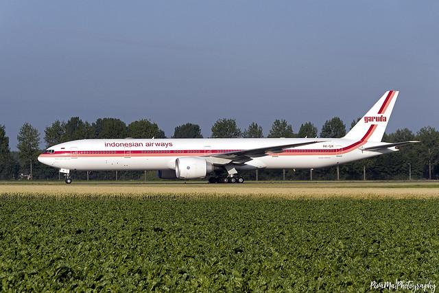 PK-GIK   Garuda Indonesia   Boeing 777-300   AMS/EHAM