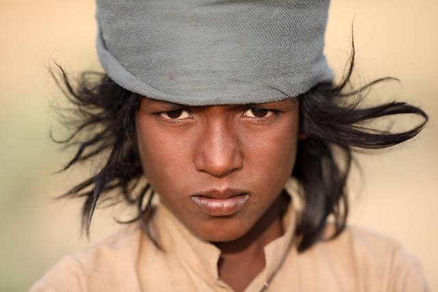 India, Gypsy boy in Pushkar