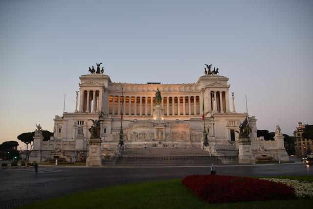Altare della Patria, The Vittorio Emanuele II Monument