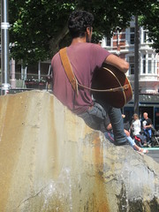 Singer on a Fountain
