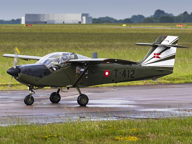 Royal Danish Air Force | Saab T-17 Supporter | T-412