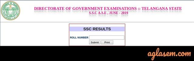 TS SSC Supplementary Result 2019