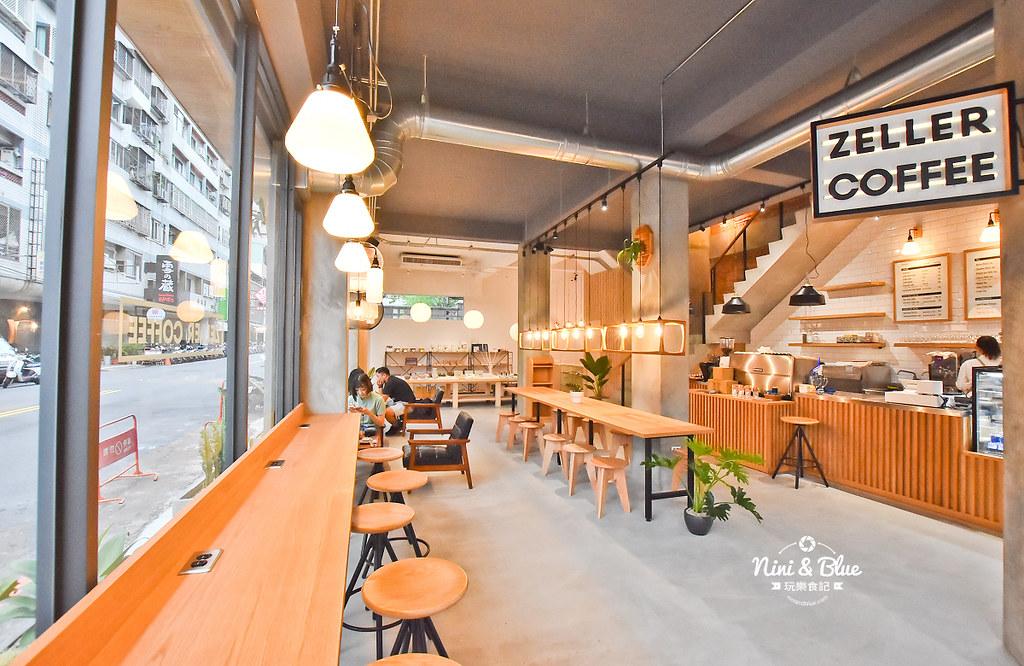 Zeller Coffee Japancart台中咖啡 不限時有插座02