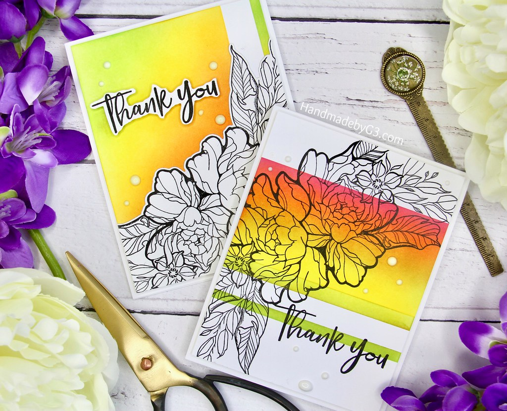 Thank you card set #2