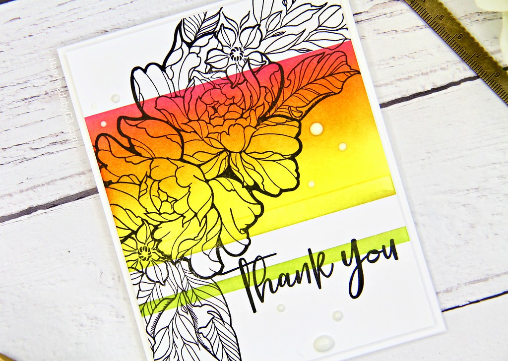 Thank you set 2 card #2 closeup1