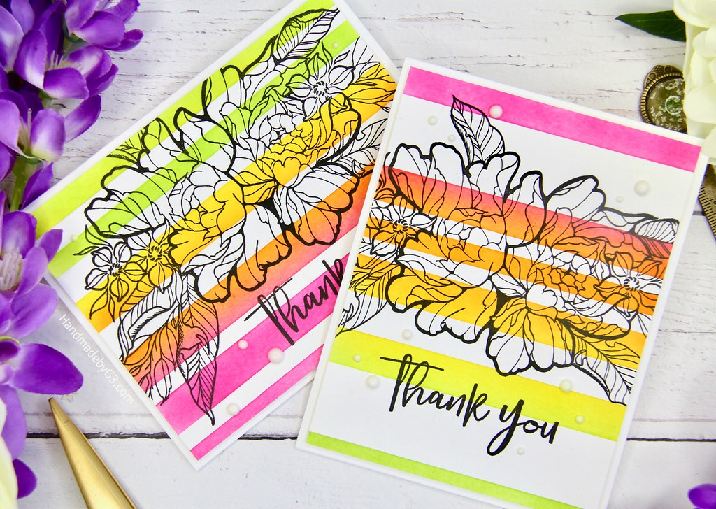 Thank you card set #1