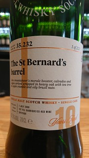 SMWS 35.232 - The St Bernard's Barrel