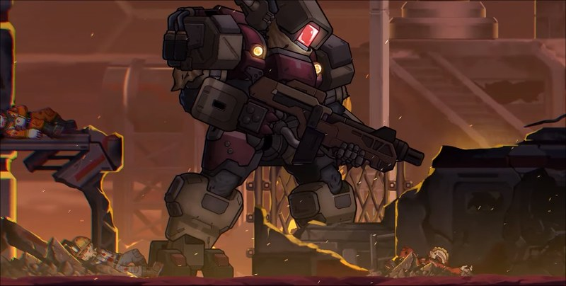 Mecha Hardcore - Annihilation Robo