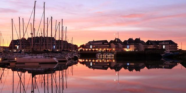 port de Grandcamp-Maisy, Calvados, Basse-Normandie