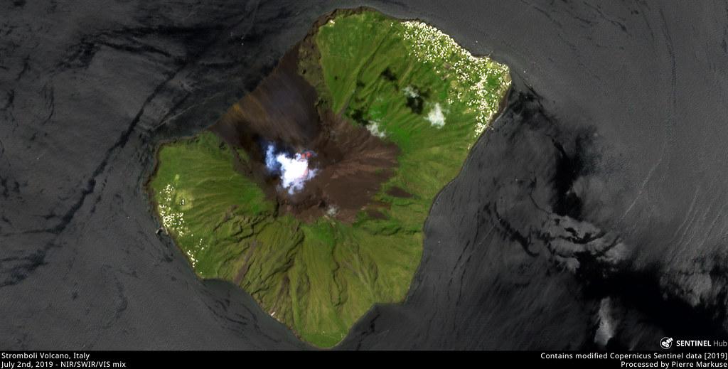 Stromboli Volcano, Italy - July 2nd, 2019