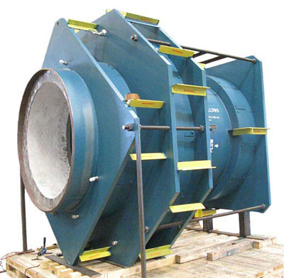 """63"""" Inline Pressure Balanced Expansion Joints with Refractory Lining for a Clean Fuels Project"""