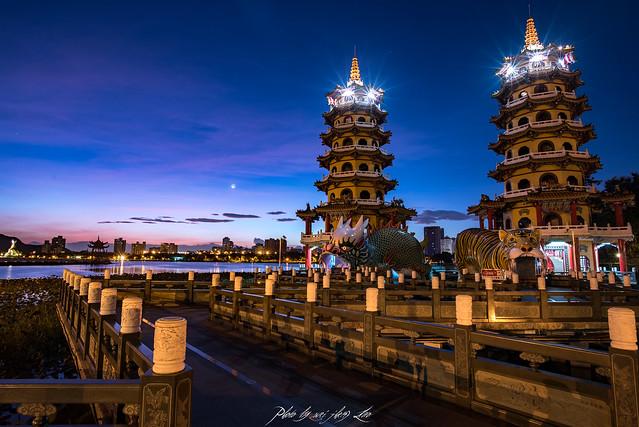 龍虎塔 Dragon and Tiger Pagoda