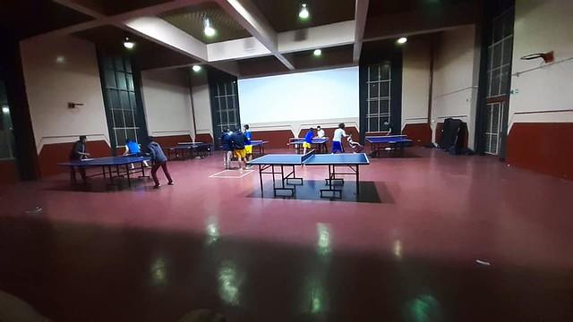 Práctica de tenis de mesa junto a Liceo TP Jorge Sánchez Ugarte de Concepción