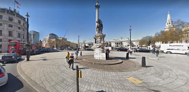 trafalgar square -- london -- great britain