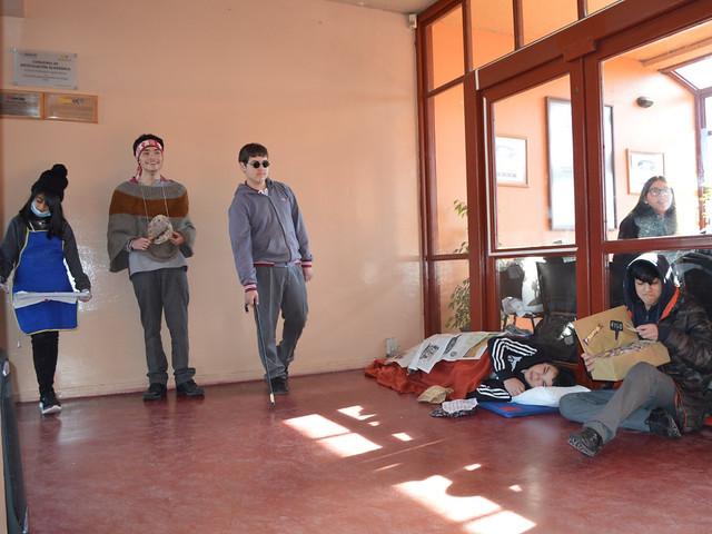 Intervención teatral en el CEAT