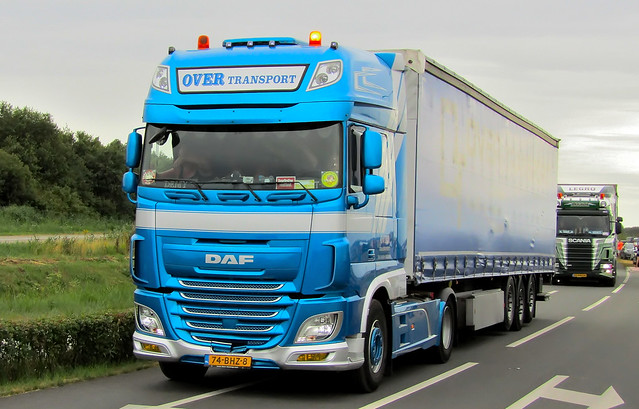 DAF XFeuro6 Over Transport Emmercompascuum