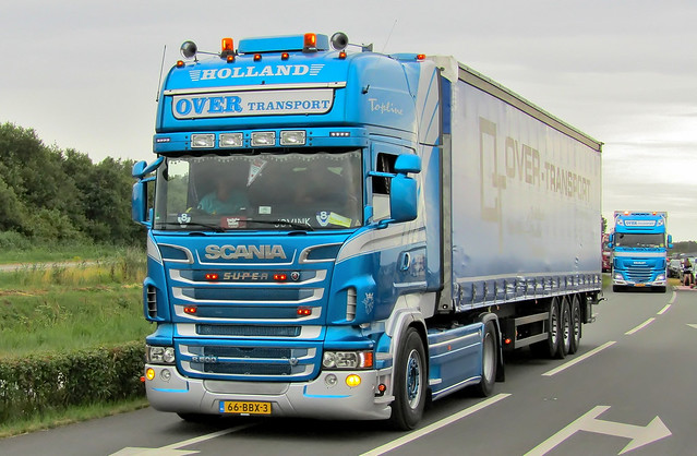 Scania R500V8 Over Transport Emmercompascuum