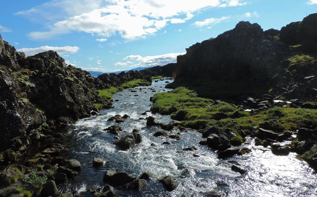 Almannagjá, Þingvellir National Park, Iceland