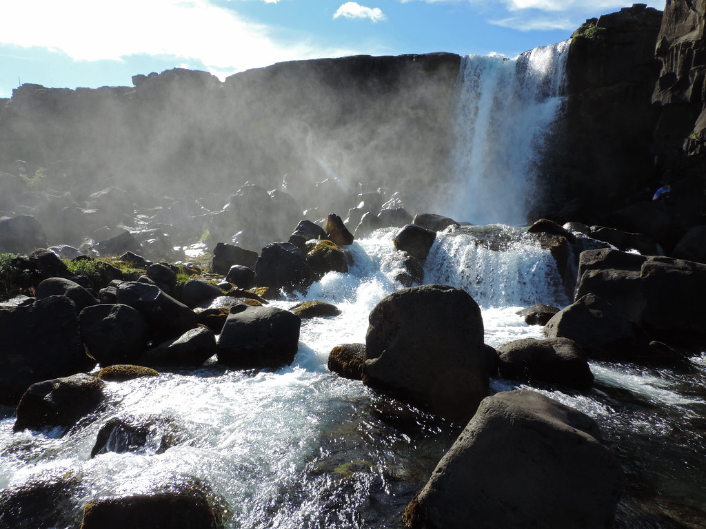 Öxarárfoss, Þingvellir National Park, Iceland
