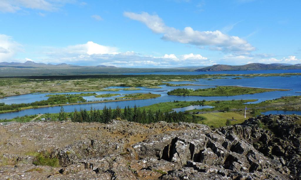 Lake Þingvallavatn, Þingvellir National Park, Iceland