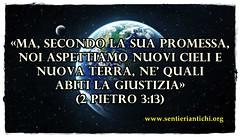 Iddio creerà nuovi cieli e nuova terra