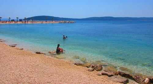 Kasuni Beach turquoise splendor - Split, Croatia
