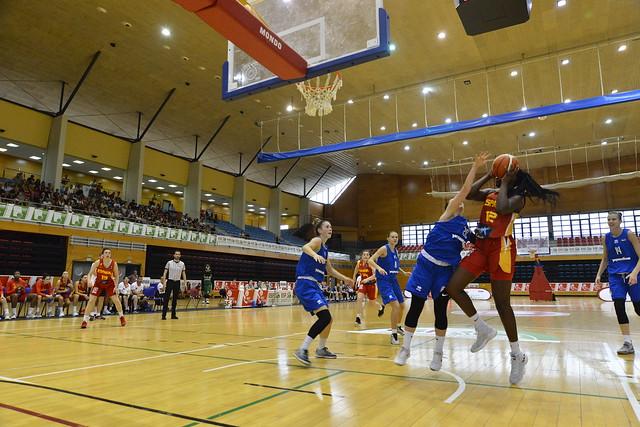 06/07/2019 Torneo Ciudad de Barakaldo-Semis: Ucrania-España