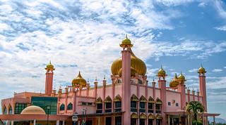 Kuching Town Mosque ( Masjid Bandaraya)  Kuching Malaysia ( Borneo)